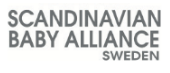 Logotype scandinavian baby alliance